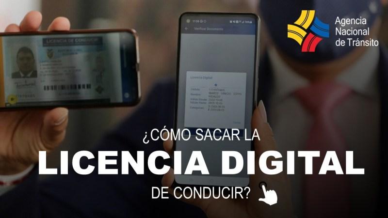 Cómo sacar la Licencia Digital de Conducir