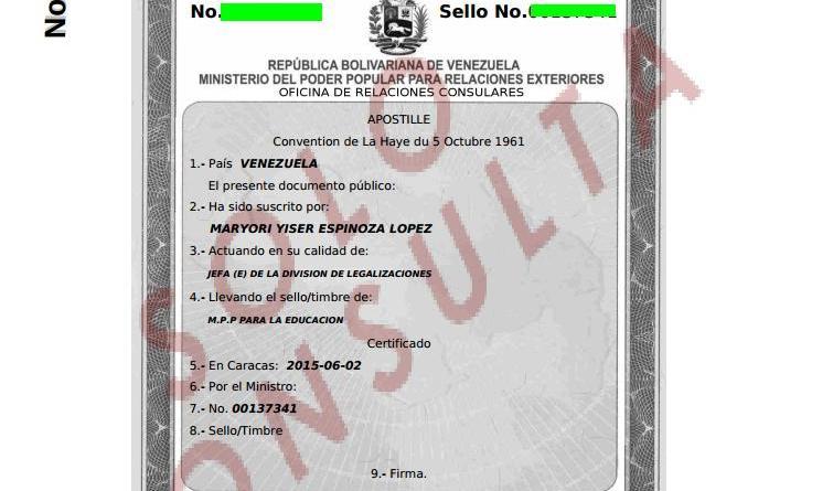 Apostillar Certificado de Antecedentes Penales - Tramites Públicos ...