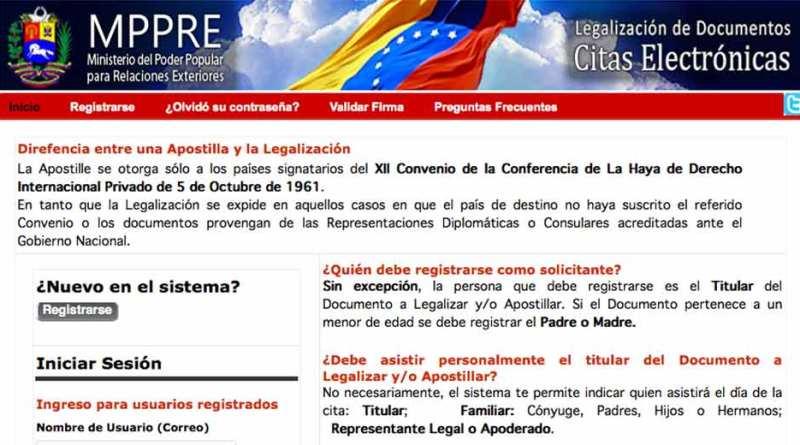 Como registrarse y solicitar cita para Apostillar 2018 - Tramites ...