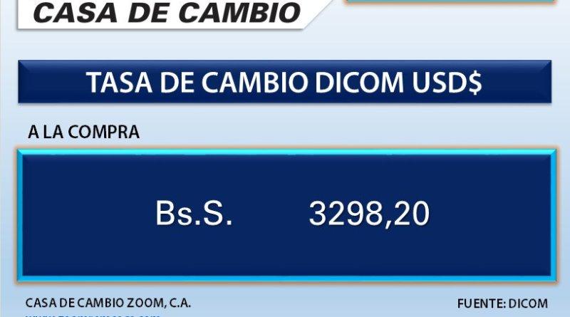 Casas de cambio cuentan con una nueva tasa de 3.299 Bs para las remesas familiares