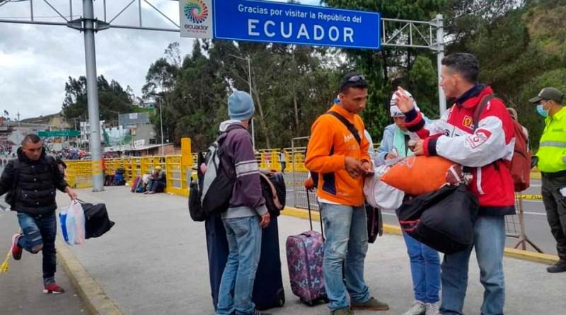 Hasta el 25 de agosto Ecuador dejará entrar a venezolanos sin visa