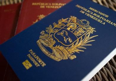 Canadá reconoce extensión de validez a pasaportes venezolanos vencidos