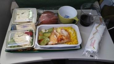 Flight, Food, Ethiopian Airlines, Dinner, Meal,