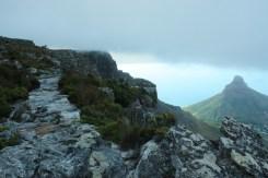 A walk on the edge!