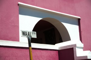 Waal street, STR, road sign, Cape Town, South Africa