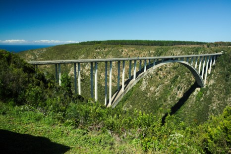 On the way to Addo Bluekrans Bungee2