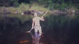 That water was deep brown... but Im still alive! :)
