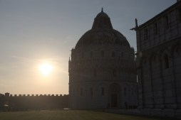 Baptistery in the evening