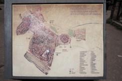Forum Romanum map