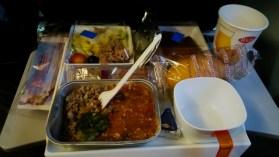 Good food again Aeroflot Moscow - Tokyo