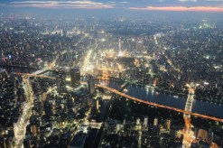 Tokyo from Above dusk 10