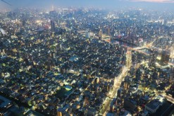 Tokyo from Above dusk 6