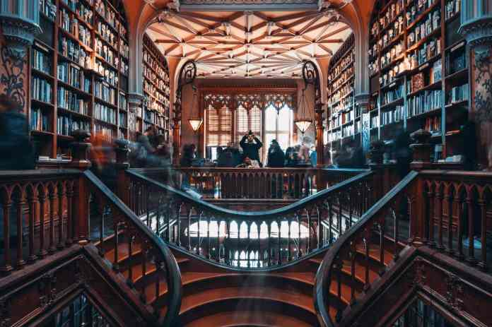 Libreria Lello & Irmão: Hogwarts portoghese