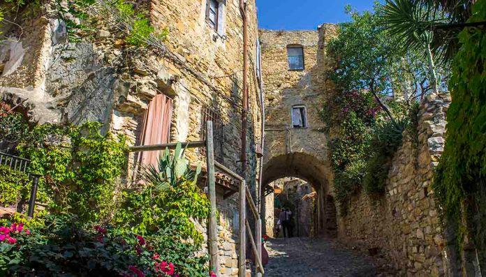 Le village des artistes - Bussana Vecchia