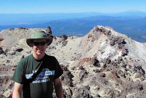 Photo of me on Mt. Lassen