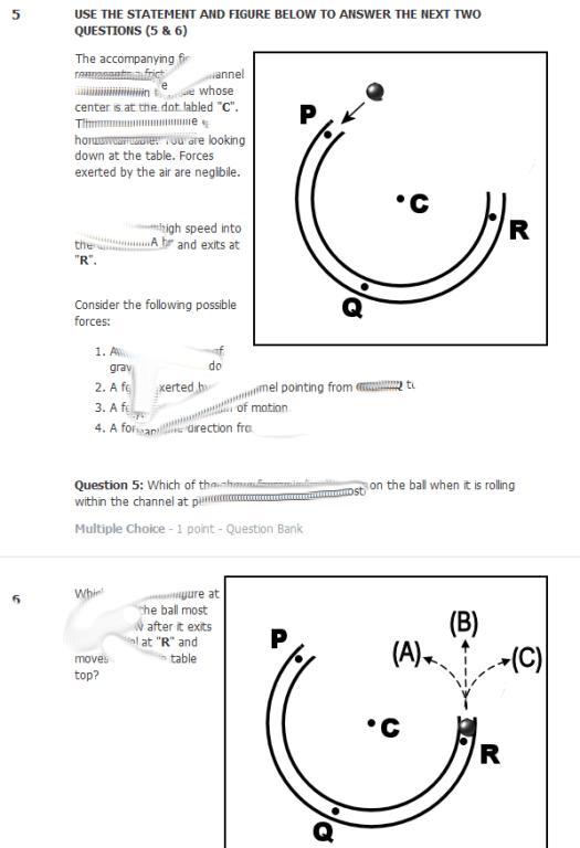 image showing circular paths