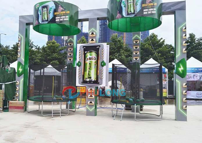 Tổng hợp khu vui chơi công viên bạt nhún tại TPHCM