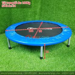 Sàn nhún mini cho bé Phú Long PL1901 loại nhỏ đường kính 102Cm (1)