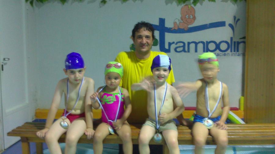 Forjando nadadores.