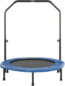 Upper Bounce Fitness Foldable Small Trampoline