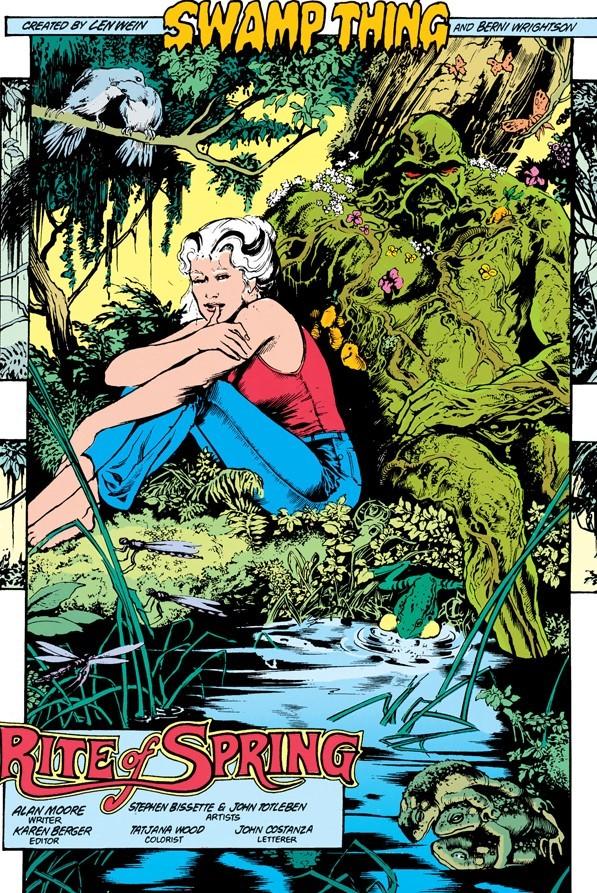 Swamp Thing #34 Rite of Spring - Tranceam org