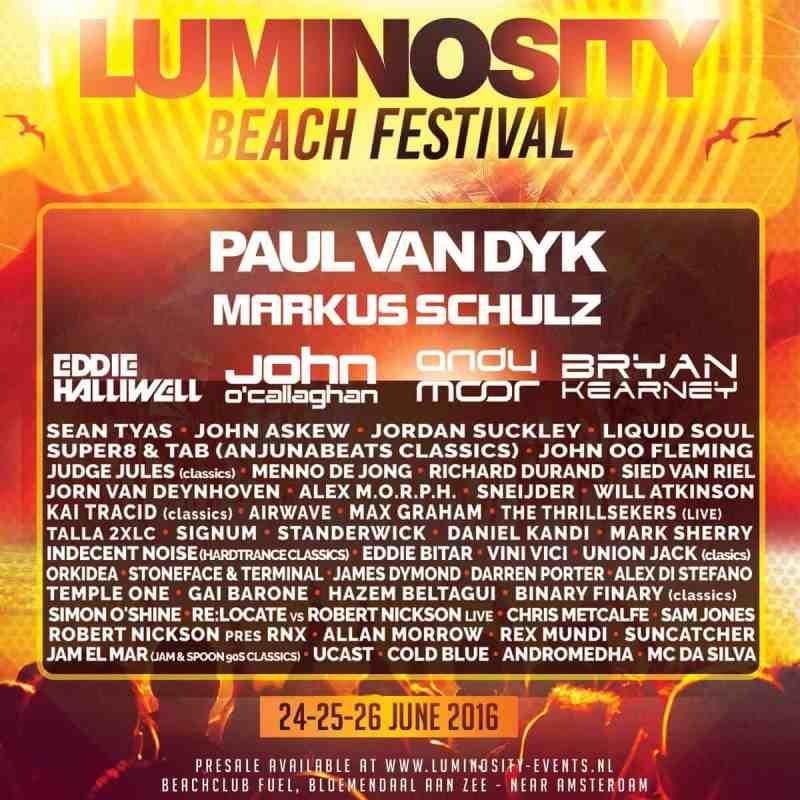 Luminosity Beach Festival 2016