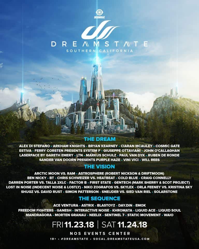 Dreamstate SoCal 2018
