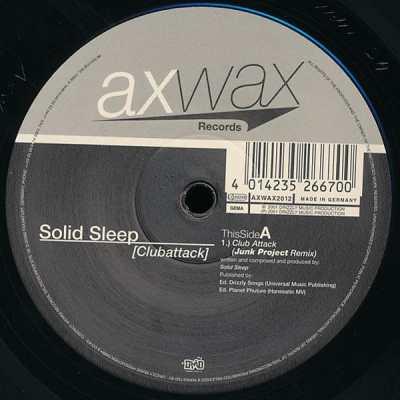 Solid Sleep - Club Attack (Junk Project Remix)