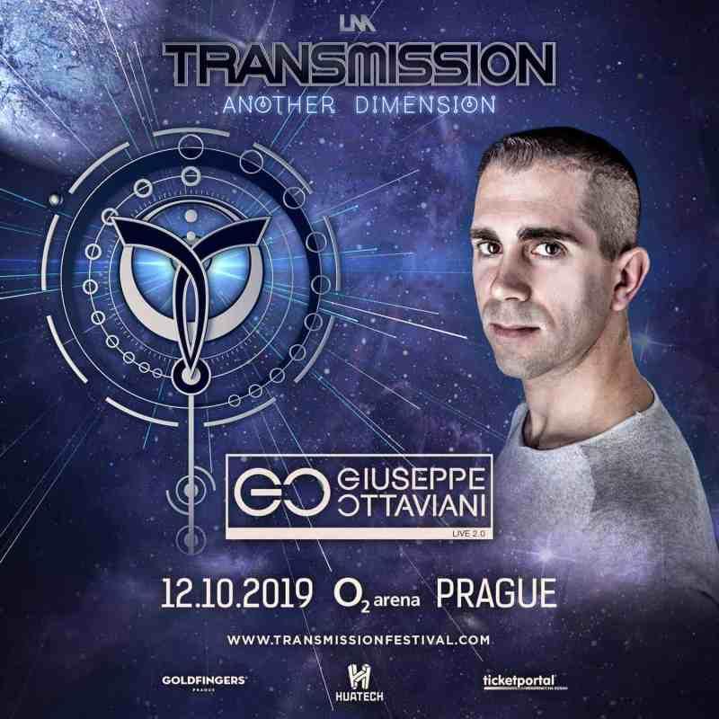 Giuseppe Ottaviani 2.0 live at Transmission - Another Dimension (12.10.2019) @ Prague, Czech Republic