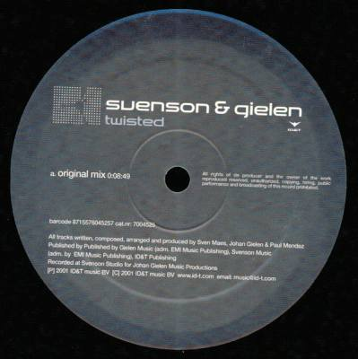 Svenson & Gielen - Twisted