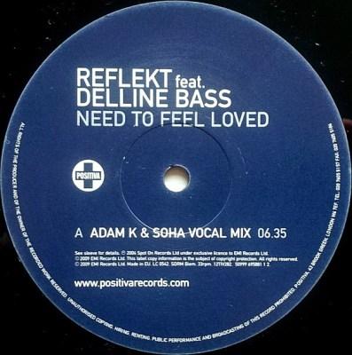 Reflekt feat. Delline Bass – Need To Feel Loved