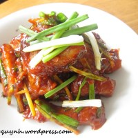Korean-Style Spicy Pork Ribs
