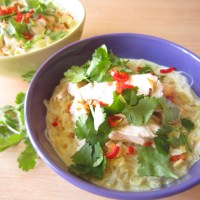 Coconut Chicken Glass Noodles