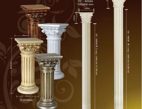 Cột PU trong thiết kế tân cổ điển