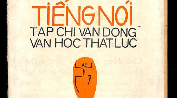 Tiếng nói  số 1 tháng 4-1966