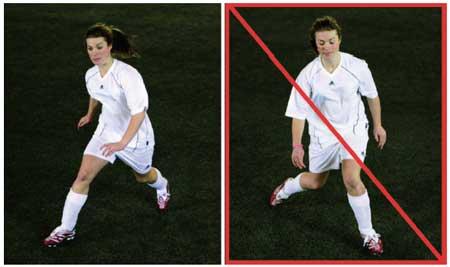 Felaktiga rörelsemönster kan öka risken för knäskador