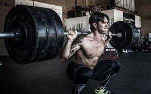 Höjning av testosterone med knäböj