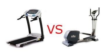 Skillnad i energiförbrukning mellan Crosstrainer och löpband