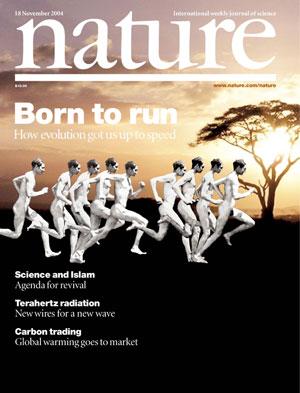 Framsidan av Nature, Born To Run