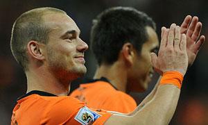 Sneijder, ett lättlurad fantastisk fotbollsspelare