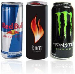 Olika typer av energidrycker