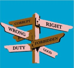 Moralfilosofin (etiken) är knappast en fråga om enkla svar.