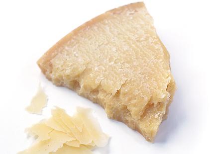 Parmesanost är ett livsmedel med tydlig smak av umami. Samma smak som man allts får i ett livsmedel eller en maträtt genom att tillsätta mononatriumglutamat (E621).