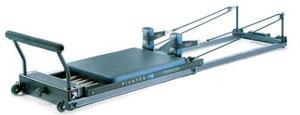 Pilates utrustningen som användes i studien