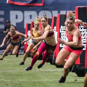 När tränar du Crossfit och när tävlar du bara i det?