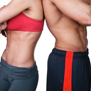 Samma mängd kalorier, olika mängd fett och kolhydrater