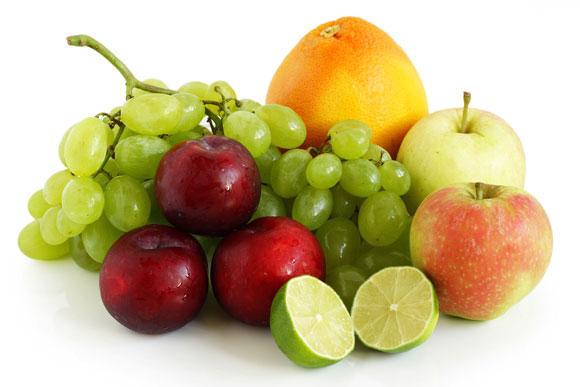 Frukt innehåller en hel del socker