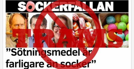 Sötningsmedel i Aftonbladet