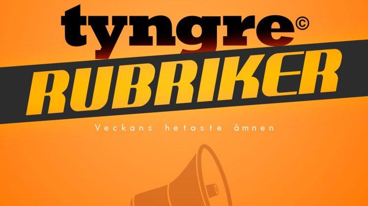 Tyngre Rubriker – En podcast om de senaste rubrikerna