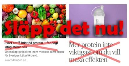 Protein och träning